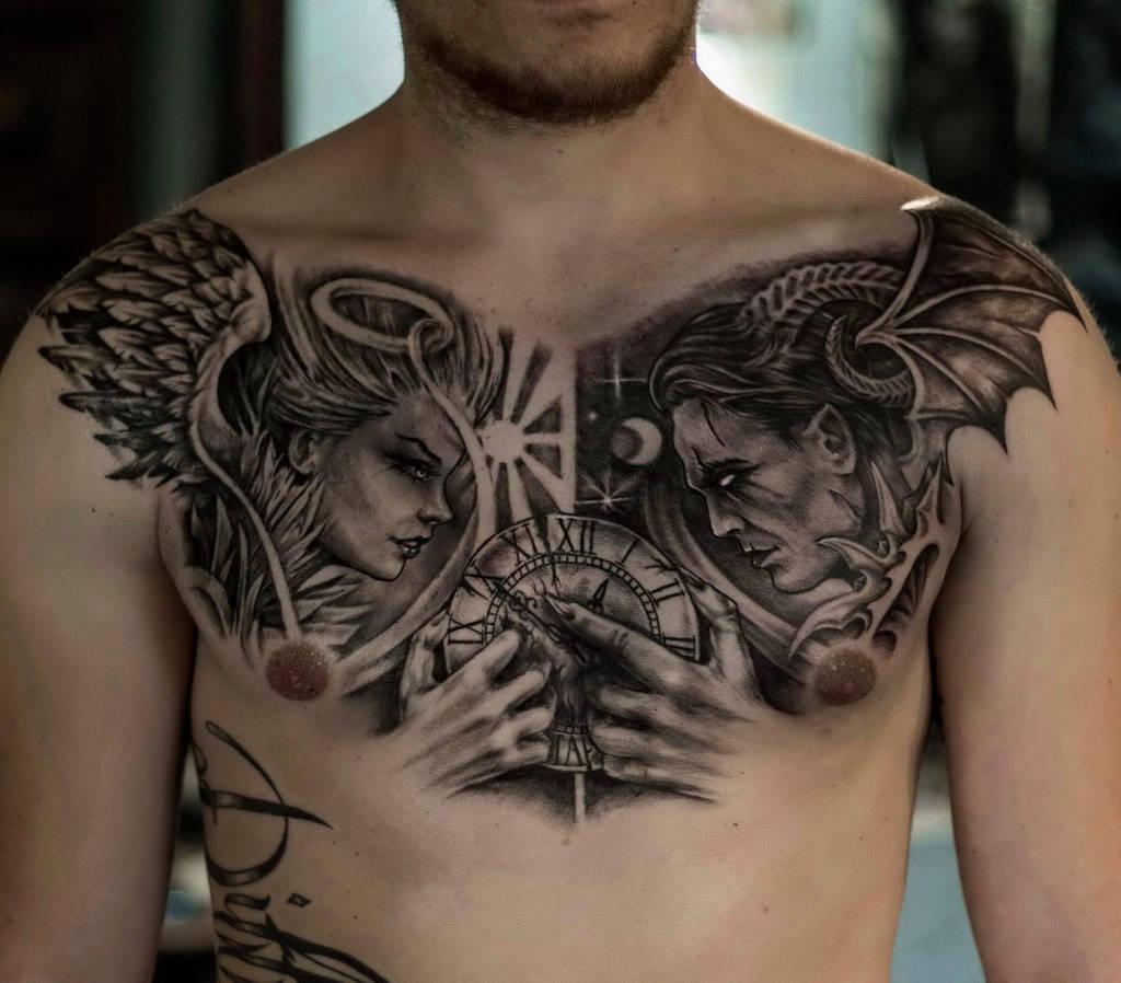 Angel vs demon by ShizZuro on DeviantArt