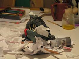 My little pet demon by vulgardragon