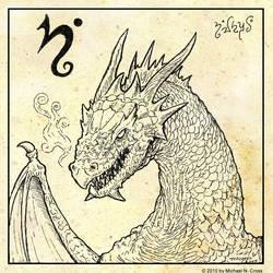 D for Dragon by vulgardragon