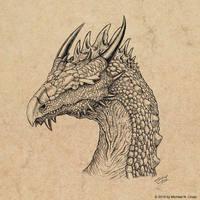 Ancient One by vulgardragon