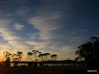Sunrise in Tasmania2 by Manjsche