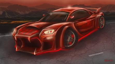 Infernal car by MaryDec