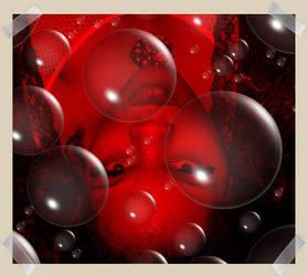 Me in bubbles... by DeemagicK