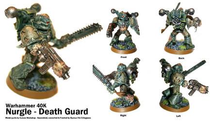 W40K: Nurgle - Death Guard by Bjarnar