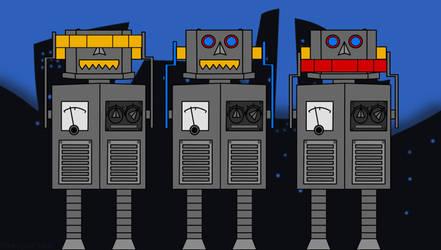 Zoolook Bots - Jean-Michel Jarre by Thira-Evenstar