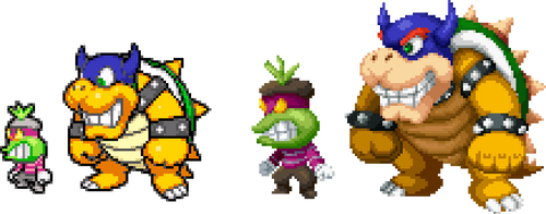 SS Popple and Rookie in DT Style by magicofgames