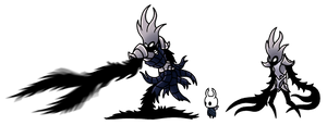 Hollow Knight: Queensmould Redesign by magicofgames