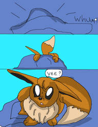 Dogman-8 request-eevee tf 5 by Absolhunter251