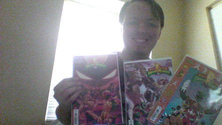 Me and my Mighty Morphin Power Rangers comics by FelgrandKnight34