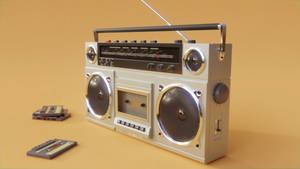 80's Radio by QuickBoomCG