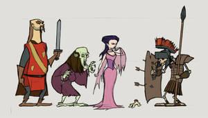 Fictionnal Cartoons-AOD 2 by gyung79