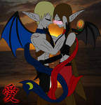 .:A Kiss From A Rose:. by Fire-Dragon10