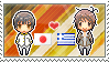 Stamp: JapanxGreece by Janbearpig