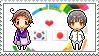 Stamp: KoreaxJapan by Janbearpig