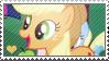 MLP: AppleJack stamp by Janbearpig