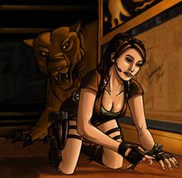 Lara Croft - Vixen21 by shadowyzman