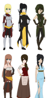 GoT/Fantasy Adopts ::CLOSED:: by FudgeNugget