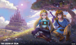 The legend of zelda breath of the wild by nufonza