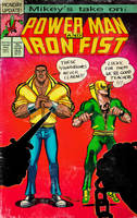 Powerm  Man and Iron Fist by mikey-c
