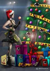 Nice Quiet Christmas by Gkoumas