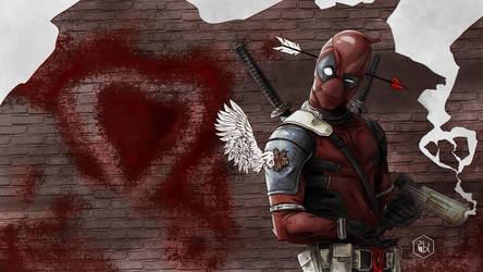 Deadpool love by Gkoumas