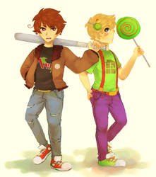 FANDOMSTUCK - 2p!hetalia and trickster!homestuck by LaWeyD