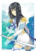 kiryuin Satsuki - kill la kill by LaWeyD