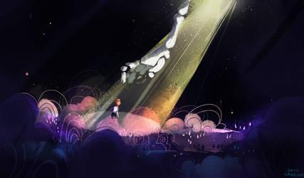 death writes a fanfiction by LaWeyD