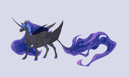 Nightmare Moon by CarlosLancer
