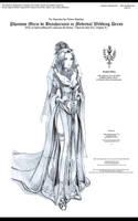 CNE: Miria in Wedding Dress by bmesias063