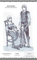 Claire and Raki by bmesias063