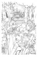 Miata Hapsburg and Princess Natalie de Beauharnais by bmesias063