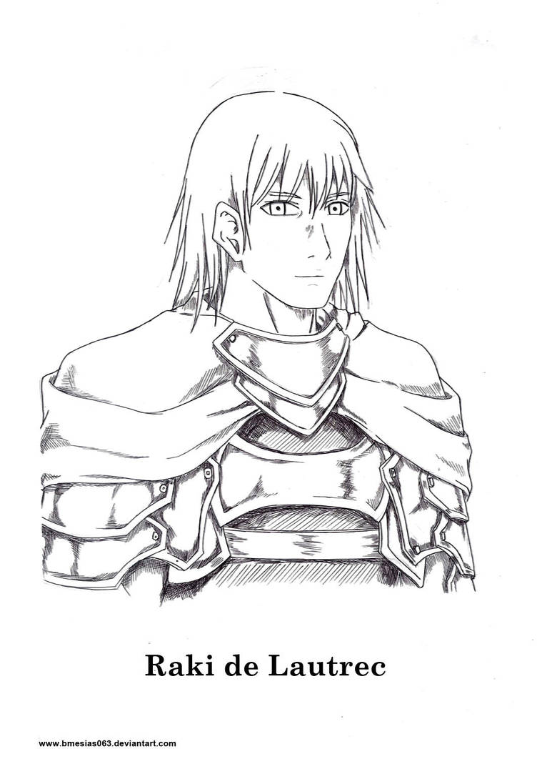 Claymore Character, and of it's fanfictions: Raki by bmesias063