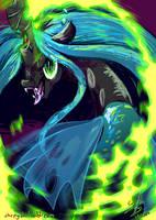 Blaze of Green by Chirpy-chi
