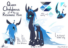 Queen Chalybeous Ref by Chirpy-chi