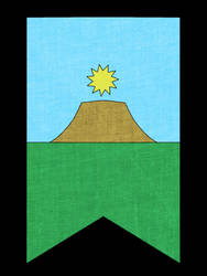 Flag- The Kingdom of Earth and Sun by VigoSinger