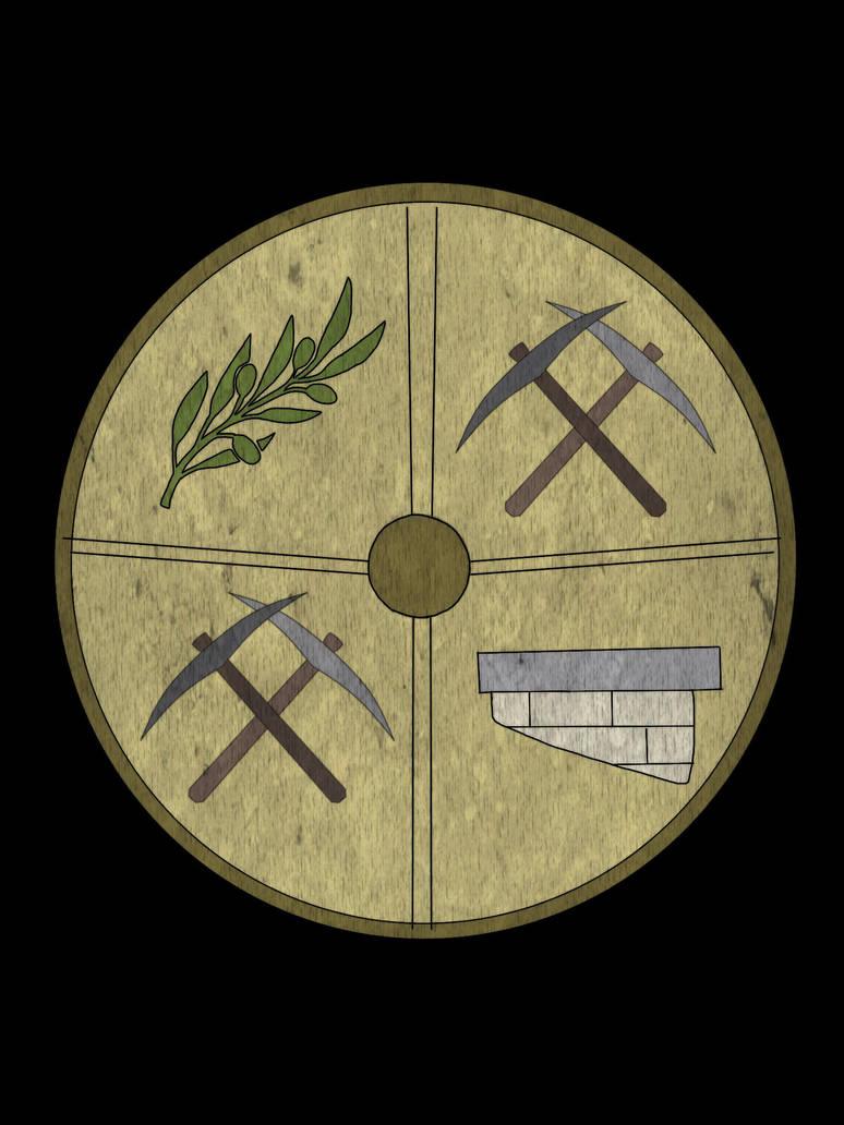 Ysgur City Shield- Khavit (Cavebreak City) by VigoSinger