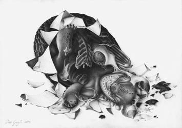 Night Fury hatching by DanGref