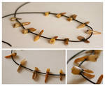 Human Teeth Necklace by cryo-draws