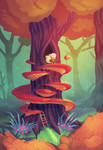 Tree House by cryo-draws