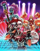 Rock Band  - Street Fighter vs Darkstalkers by iassu