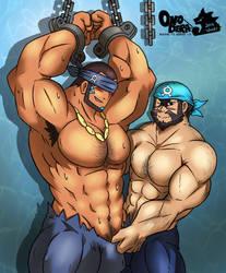 Archie and Matt's bonding time by Onodera-kun