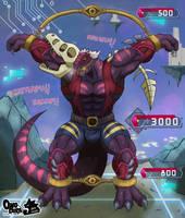 Dino Wrestler Counter Deck by Onodera-kun