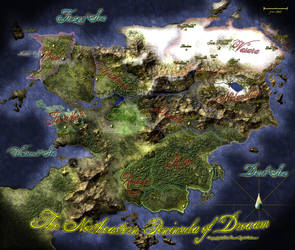 Peninsula of Droaam by RecklessEnthusiasm