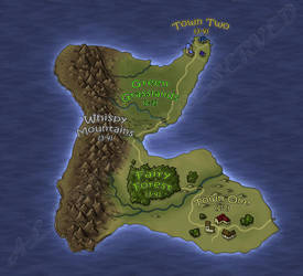 Map project for a commission. by RecklessEnthusiasm