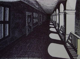 Hallway by BetterNamesWereTaken