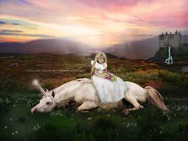 Portrait of a Princess by Jeni-Sue
