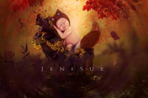 Baby Fox by Jeni-Sue