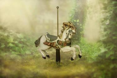 Forgotten Carousel by Jeni-Sue