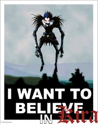 I Want to Believe in Kira (X Files - Death Note) by TheSyFyFan